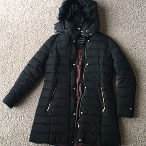 Ralph Lauren black winter coat